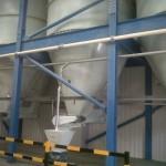 50 tonne flour silos