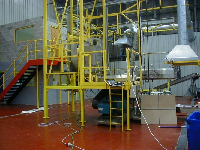 extrusion test plant