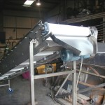 incline ss belt conveyor