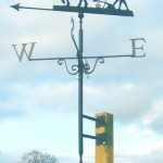 plough weather vane